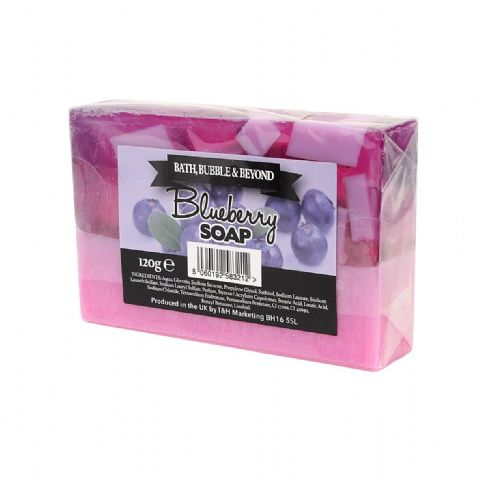Blueberry Glycerin Soap Slice - Bath Bubble & Beyond 120g